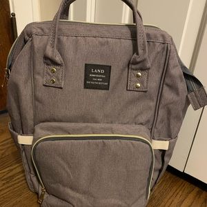 Other - Land Baby Diaper Bag